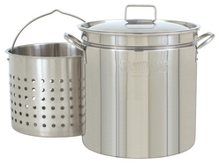 Stainless Steel Stockpot / Basket / Lid
